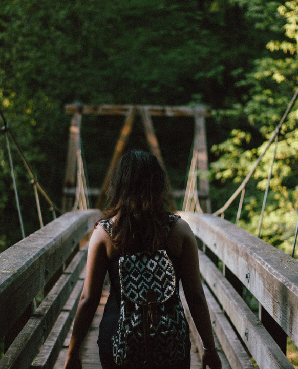 Girl bridge